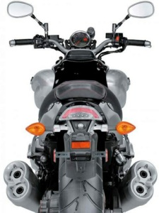 2009_Yamaha_V-Max_rear