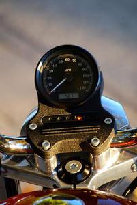 2012 Harley Davidson Superlow 883 Speedometer