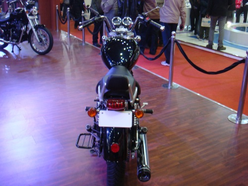 Thunderbird 500 Taillight and Back rest