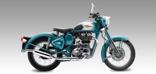 Royal Enfield Classic Blue