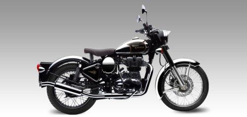 Royal Enfield Classic Chrome Black