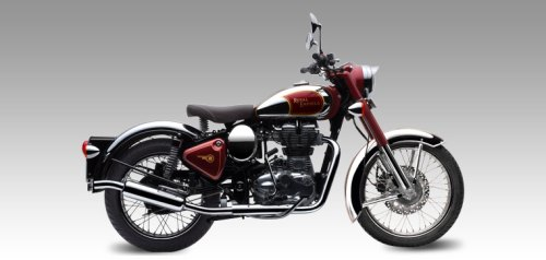 Royal Enfield Classic  Chrome Red