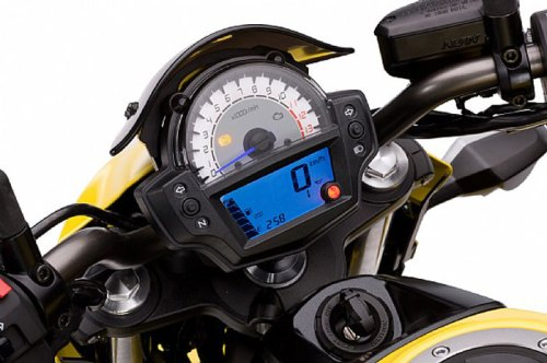 2012 Kawasaki er-6n Digital Condole