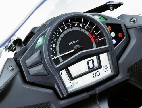 2012 Kawasaki Ninja 650R Digital Console