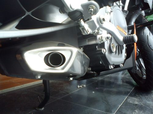 KTM Duke 200 Exhaust