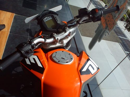 KTM Duke 200 Digital Console