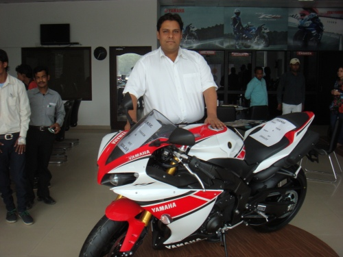Mr Puneet Gupta With R1 WGP 50th Anniversary Limited Edition