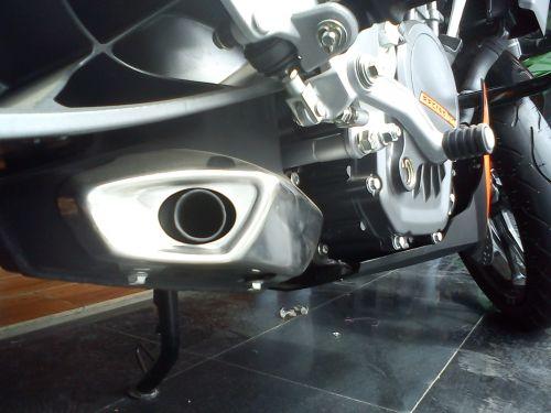 KTM 200 DUKE Exhust