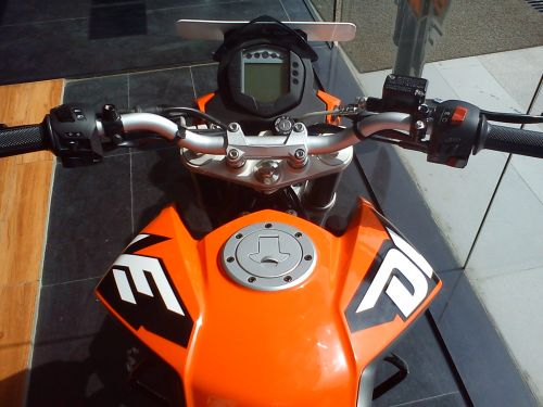 KTM 200 DUKE Digital Console