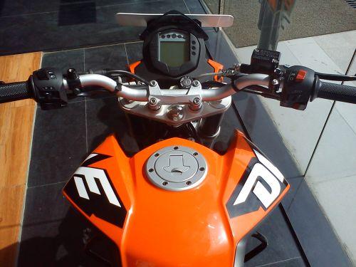 KTM 200 DUKE Digital Console