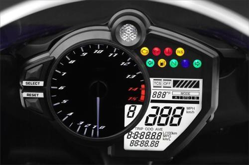 2012 Yamaha R1 Console